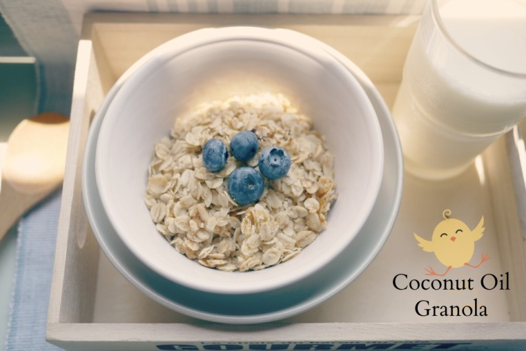 Recipe : Coconut Oil Granola // Mono+Co