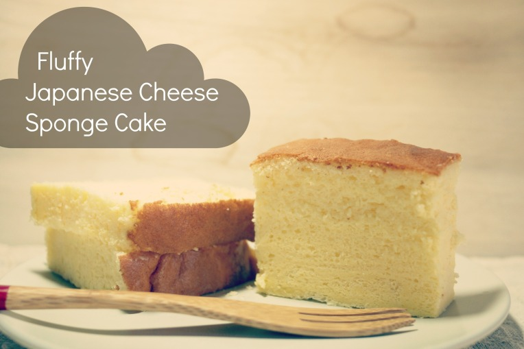 japanese cheese spongecake // mono+co