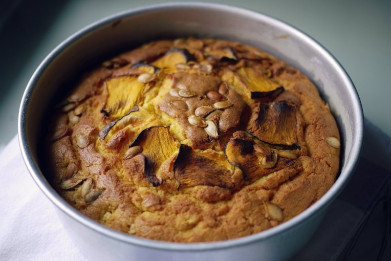 Pumpkin butter cake // makingitblissful