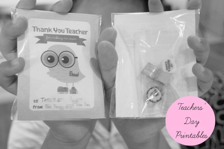 Teachers' Day Printables // Makingitblissful