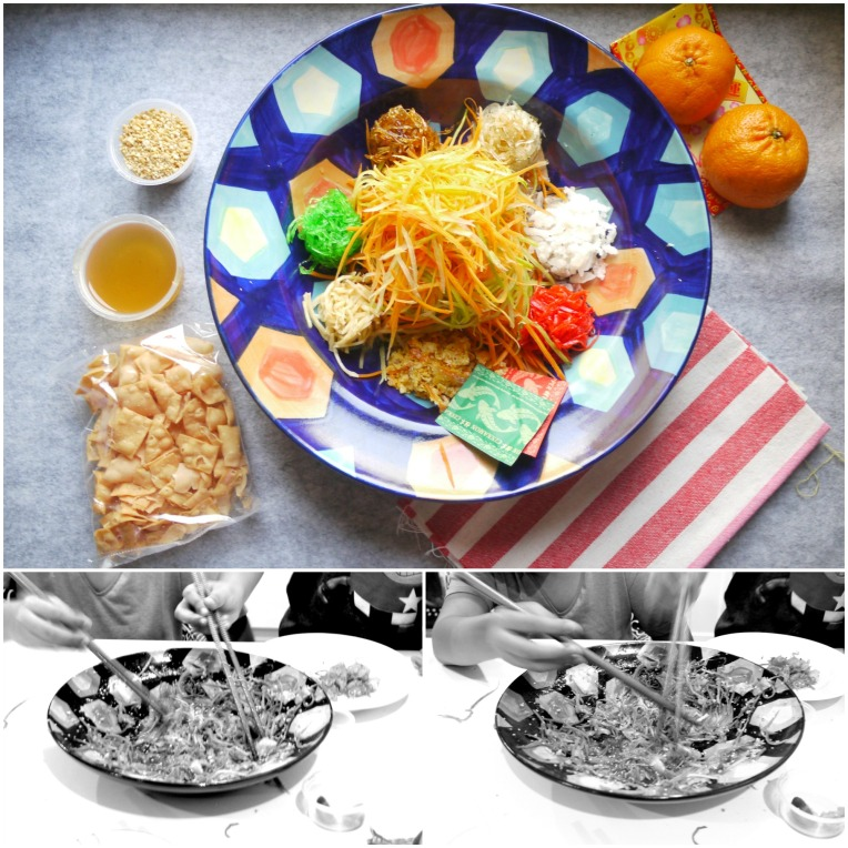 what to say during a lo hei session