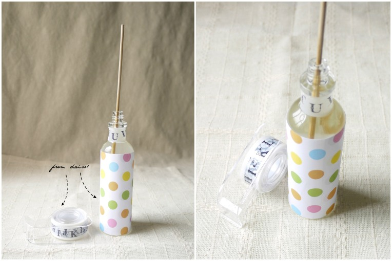 diy reed diffuser // mono+co