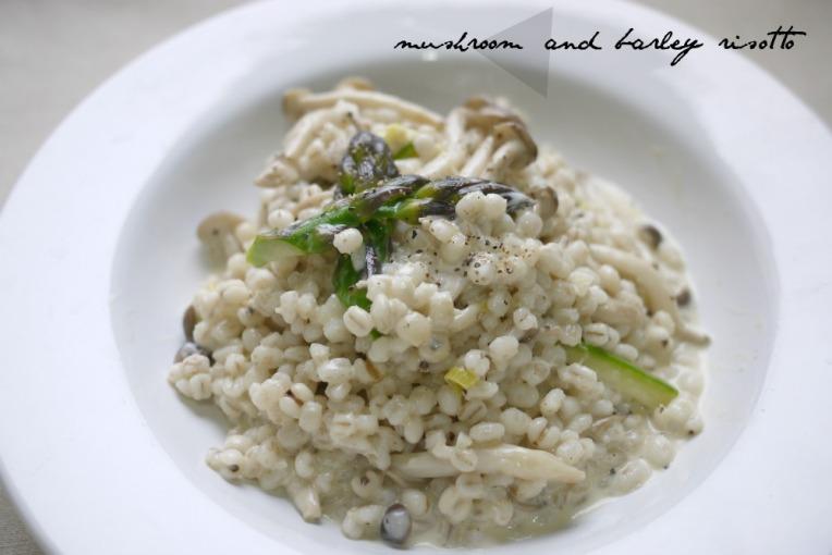 mushroom and barley risotto001