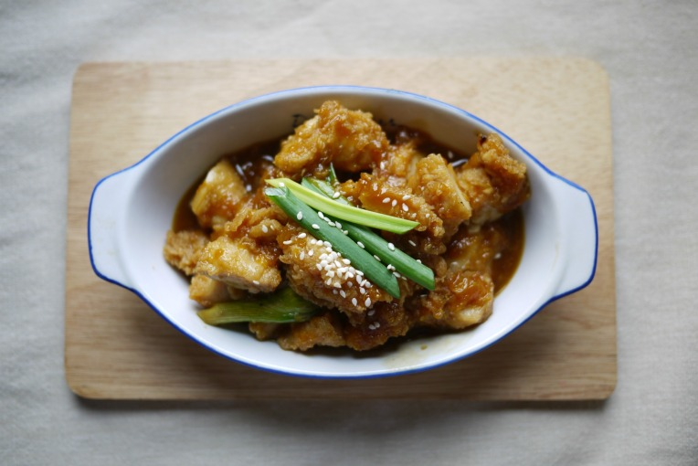 mandarin orange chicken 002