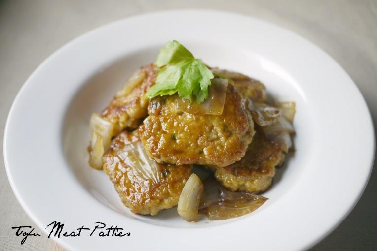 tofu meat patties