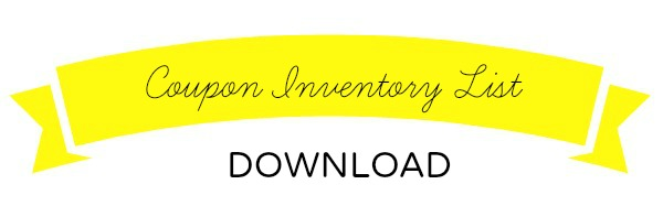 Coupon Inventory Download Title