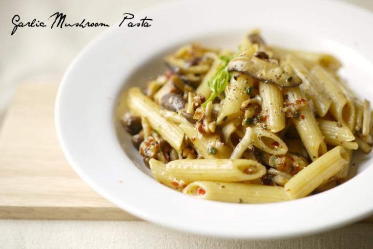 Shimeji Mushroom Pasta Garlic Mushroom Pasta 001