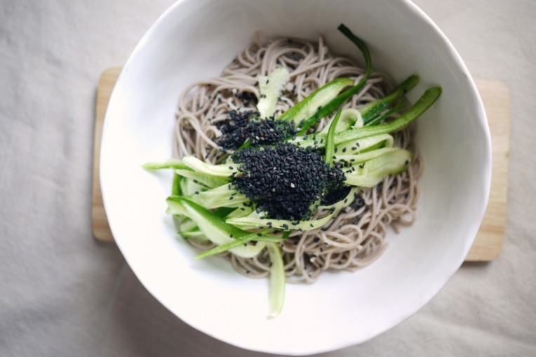 Cucumber Cold Soba Salad // Mono + Co