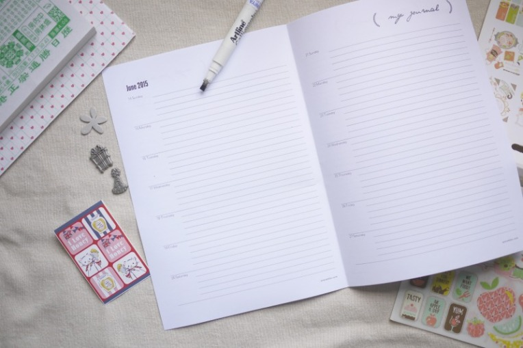 diy june 2015 journal template 002