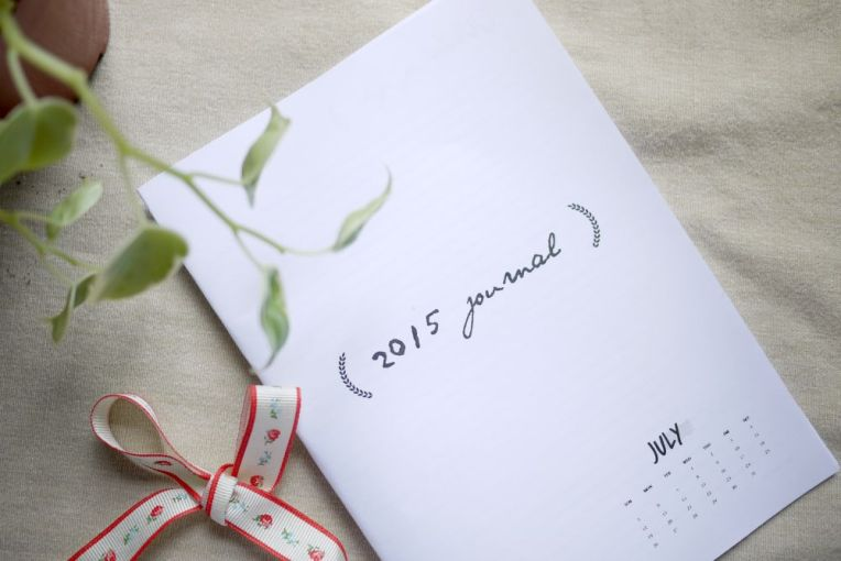 diy july 2015 journal template