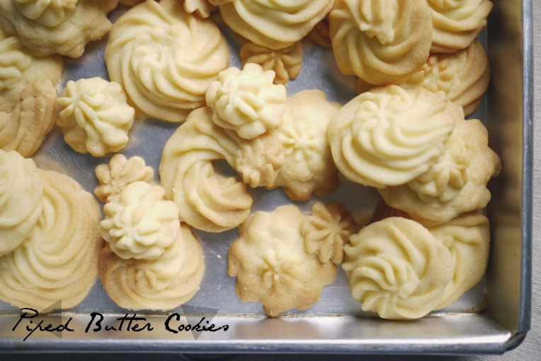 piped butter cookies 001