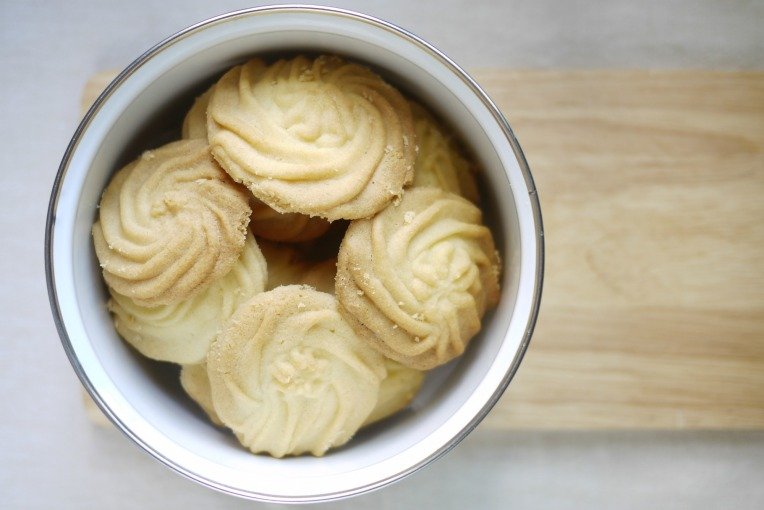 piped butter cookies 003