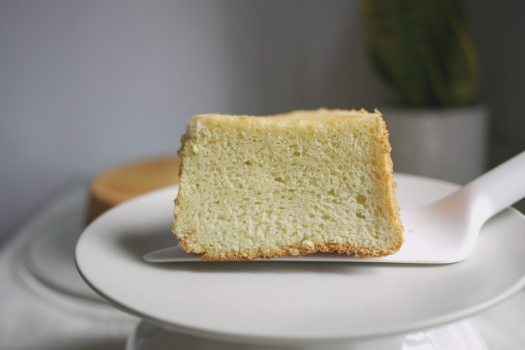 Coconut Oil Pandan Chiffon Cake // Mono+Co