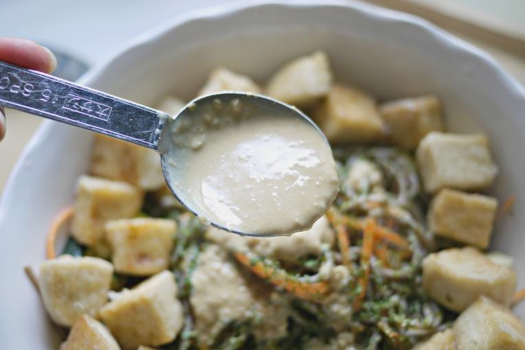 sesame mayo buckwheat noodles 003