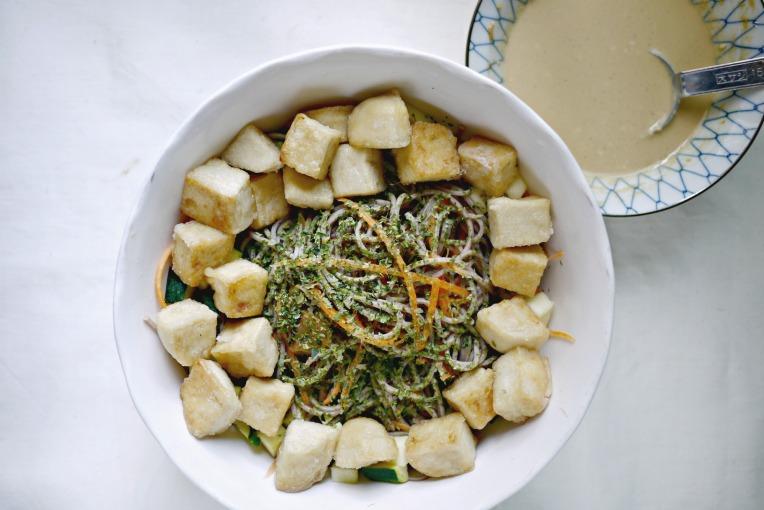 sesame mayo buckwheat noodles 006