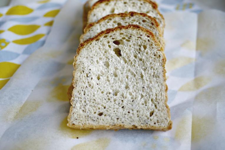 vegan chia seed loaf // MonoandCo