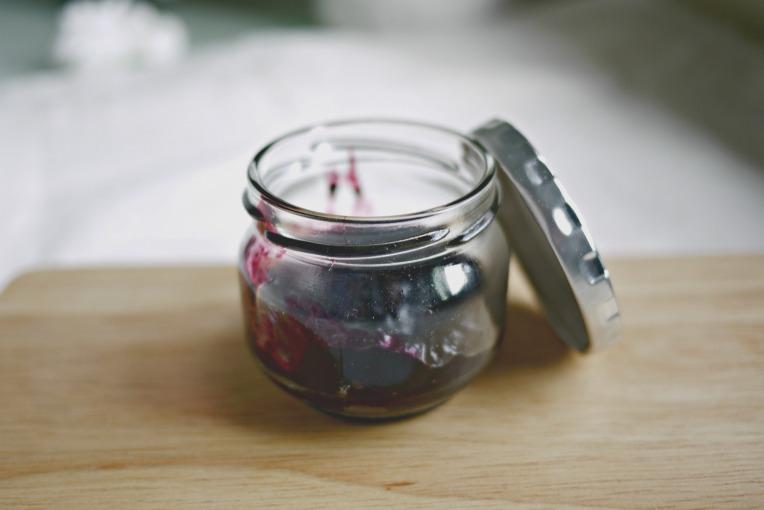 Tiny Batch Blueberry Compote // Mono+Co