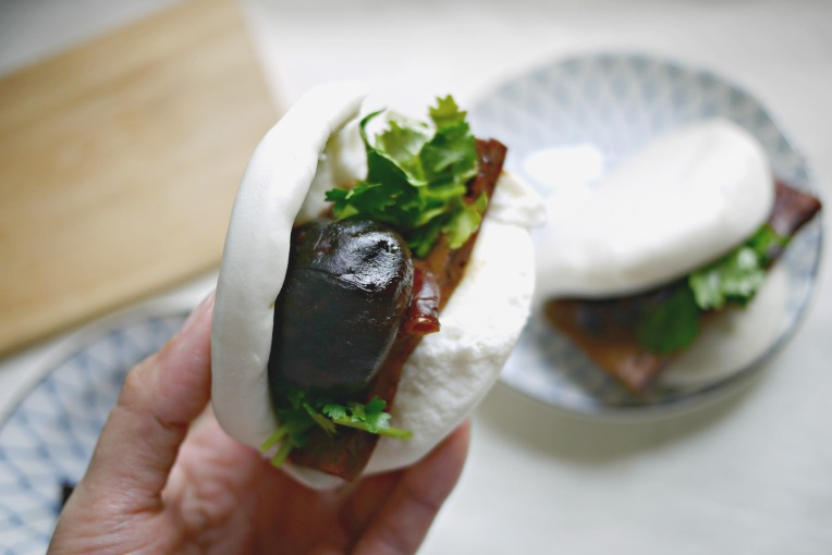 veg braised pork bun 003