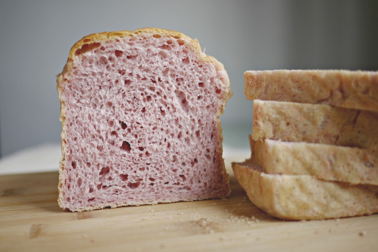 Purple Sweet Potato Bread Loaf // Mono+Co