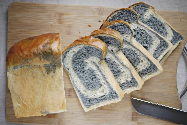 Black N White Potato Bread Loaf // Mono+Co
