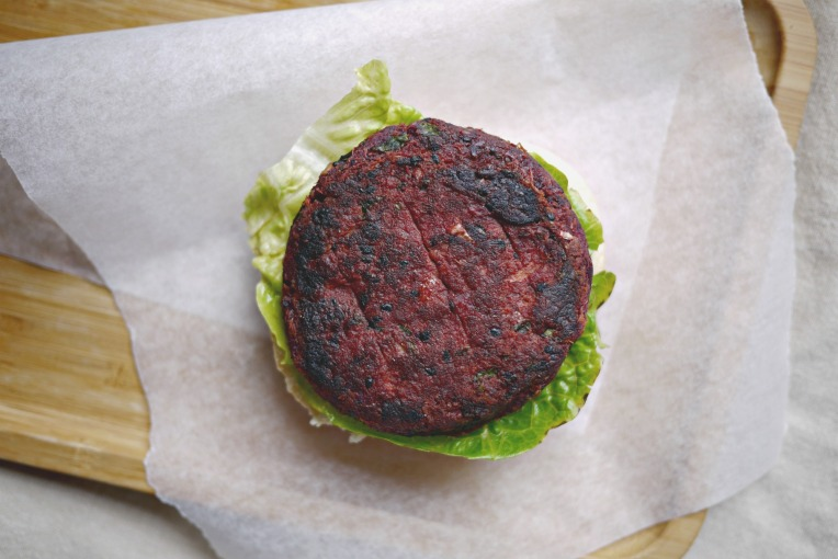 Purple Sweet Potato Burger // Mono + Co