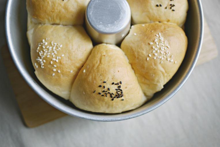 Fluffy Taro Buns // Mono+Co