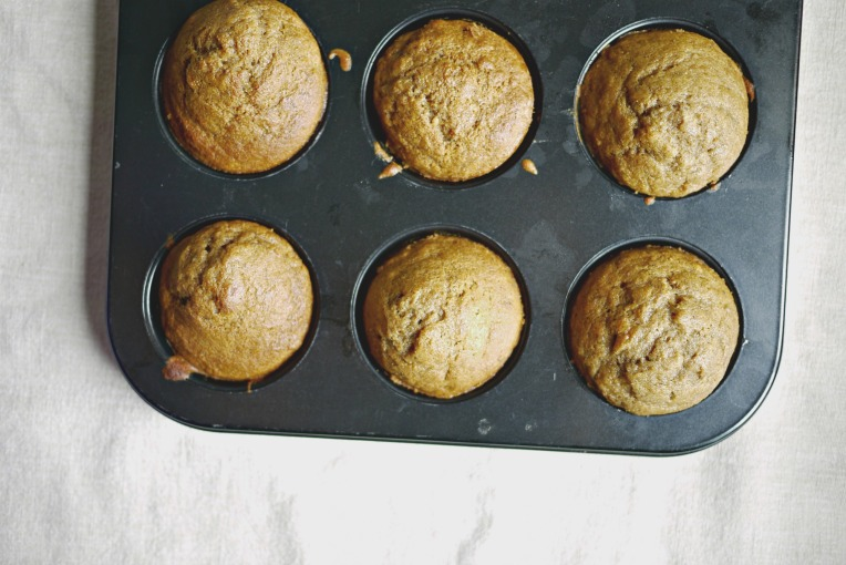 Banana Cinnamon Muffins // Mono+Co