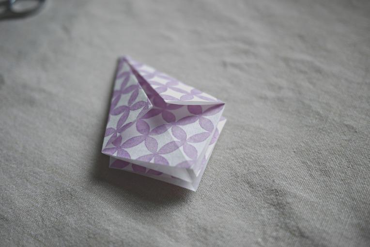 Origami Paper Diamonds // Mono + Co