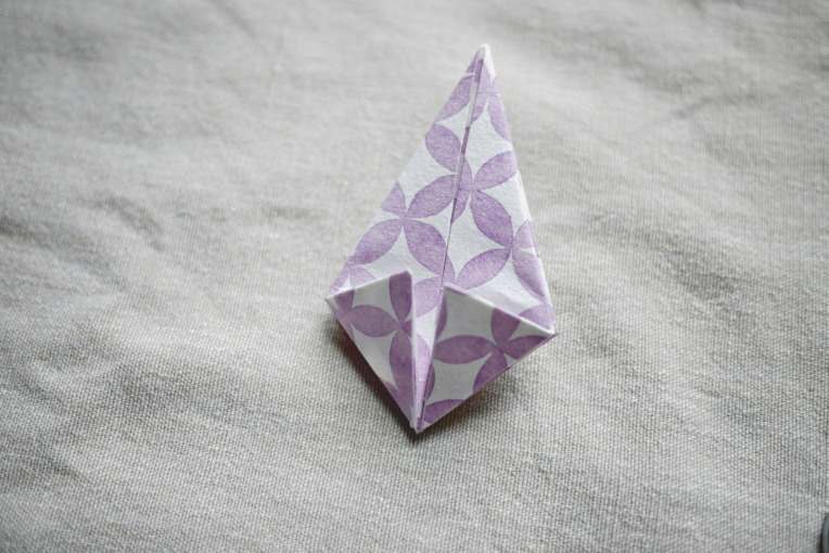 Origami Paper Diamonds // Mono + Co