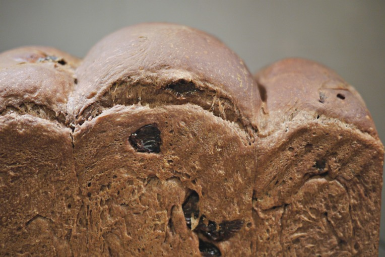 Chocolate Raisin Potato Bread Loaf // Mono + Co
