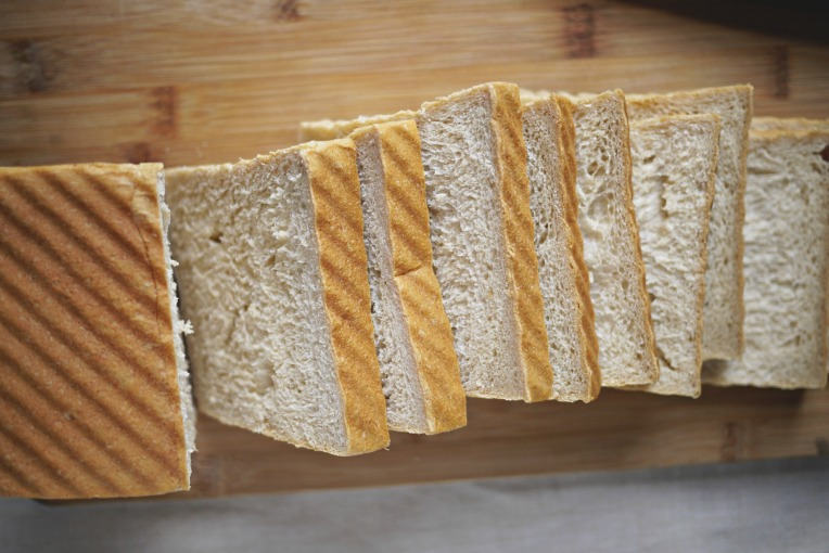 Condensed Milk Wholemeal Taro Sandwich Loaf // Mono + Co