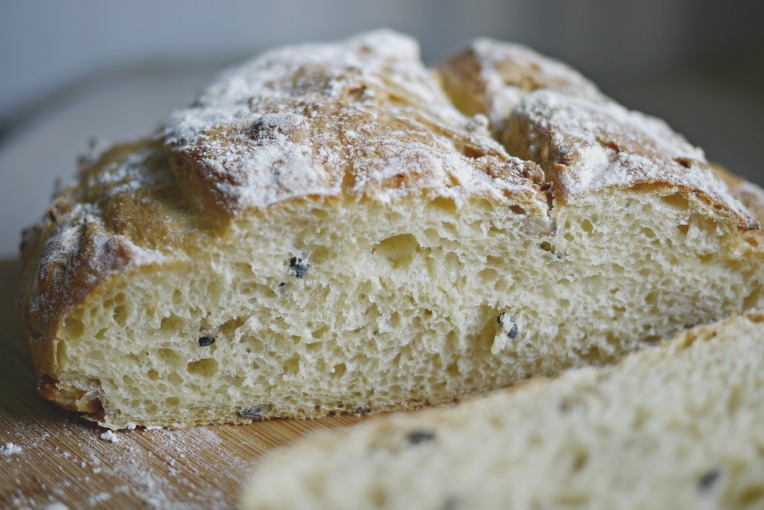 Passion Fruit Walnut Taro Country Bread // Mono + Co