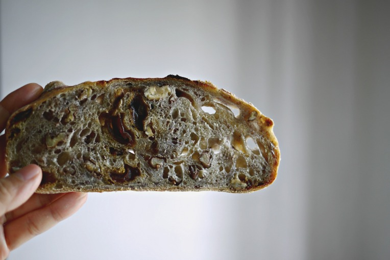 Walnut and Dried Longan Sourdough // Mono + Co
