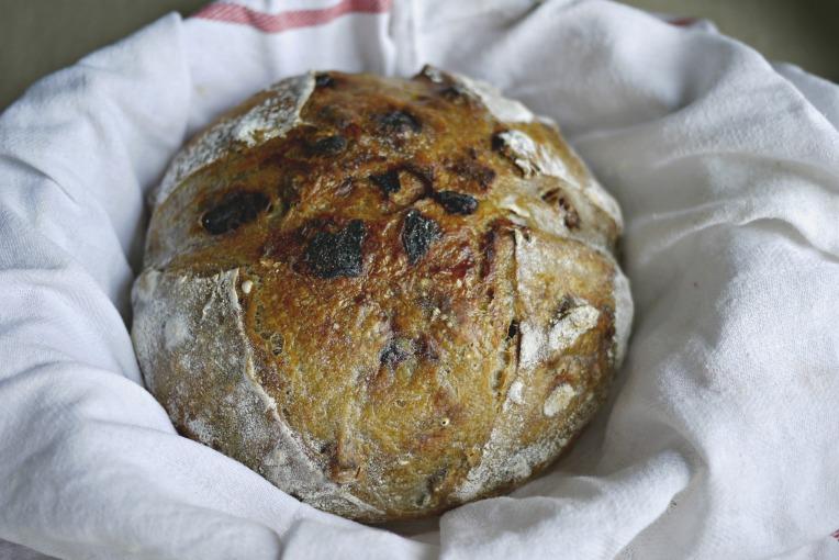Walnut and Dried Longan Sourdough // Mono + Co