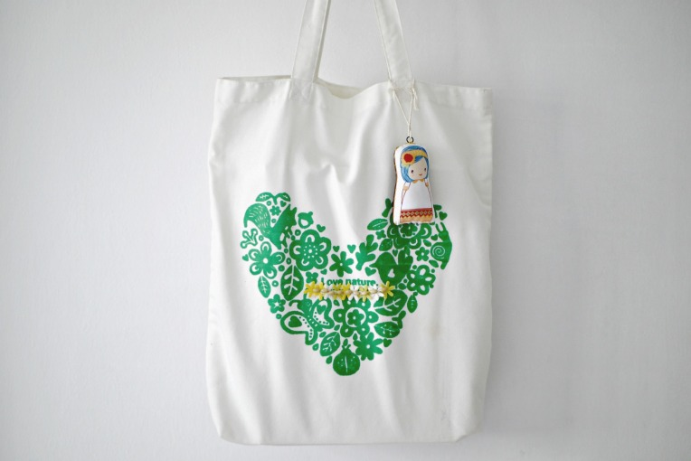 Green Monday : 327 Days Cotton Tote // Mono + Co