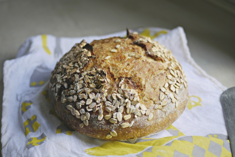 Oat Porridge Sourdough // Mono + Co