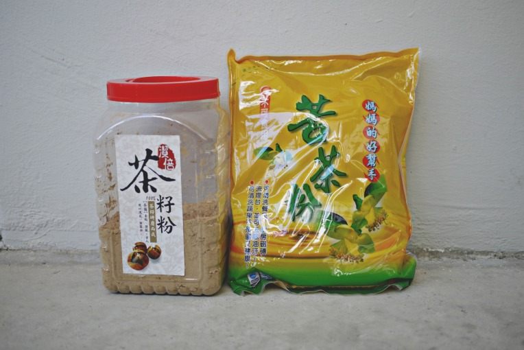 Green Monday : DIY Tea Seed Powder 苦茶籽粉 Detergent // Mono+Co