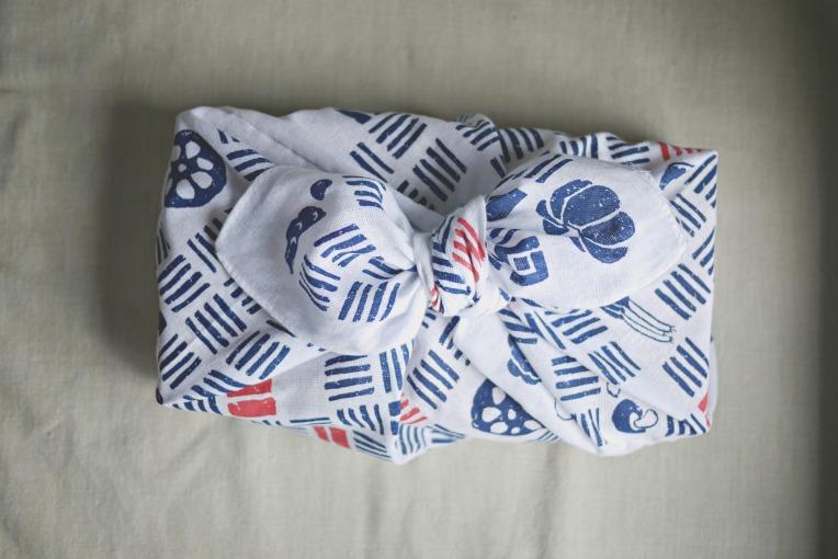 Handsewn Origami Bento Bag // Mono + Co