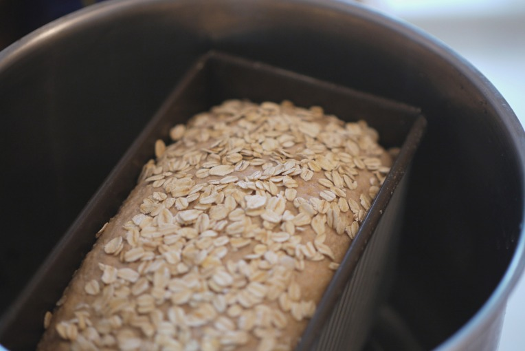 Oat and Wholemeal Bread Loaf // Mono + Co
