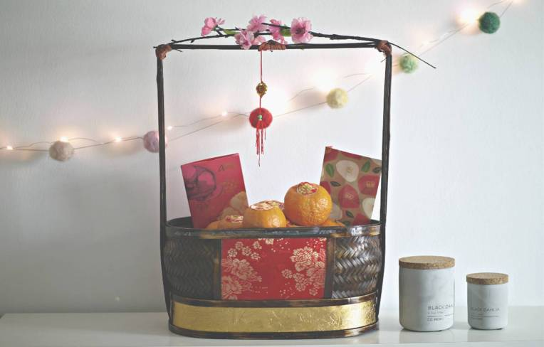 Zero Waste Decor for Chinese New Year 2018 // Mono + Co