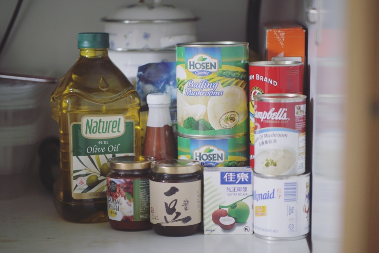 A Full Larder: Over 160 Food Items At Home Without Panic Buying // Mono + Co